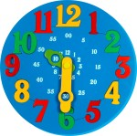 Little Genius Learning & Educational Toys Little Genius Time Learning Clock