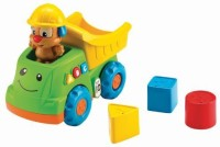 Fisher-Price Laugh & Learn Puppy's Dump Truck (Multicolor)