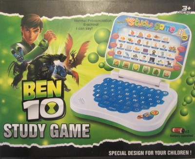 NDS Ben 10 Learning Children Laptop Study Game (Green)