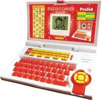 Prasid English Learner Kid's Laptop (Red)