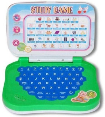 Deacon Play And Study Kids Mini Laptop (Multicolor)