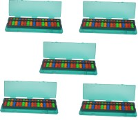 Djuize 17 Rod Multicolor Abacus And Box Type 2 Set Of 5 (Multicolor)