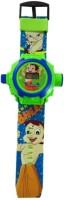 Ktkashish Toys Kashish Bhem Projecter Kids Watch (Green)