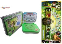 LAVIDI Combo Of Two Smart Toys For Smart Kids, Learning Laptop & Projector Watch (Green)