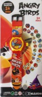 Shop & Shoppee Angry Bird Projector Wristband - 24 Images (Red)