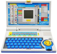 Zaprap Educational English Leaner Blue Laptop With 20 Activities (Green)