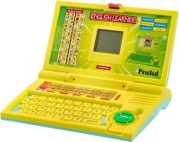 Prasid English Learner Kid's Laptop (Yellow, Blue)