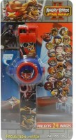 Shop Street Angry Bird 24 Image Projector Watch (Multicolor)