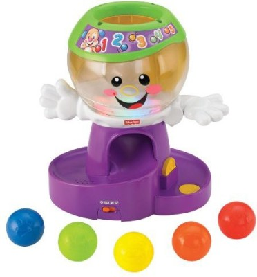 Fisher-Price Laugh & Learn Count And Color Gumball (Multicolor)