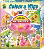 Applefun Learning & Educational Toys Applefun Colour & Wipe Flowers