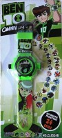 Shop & Shoppee Ben 10 Projector Wristband - 24 Images (Green)