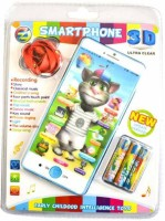 Taaza Garam Tom Cat Musical Battery Operated Toy Smartphone Kids Gift (Multicolor)