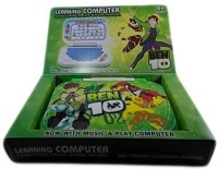 Shop & Shoppee Ben10 Mini English Leaning Laptop Toy (Blue, Green)