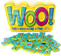 FAT BRAIN TOYS WOO!GAME (Multicolor)