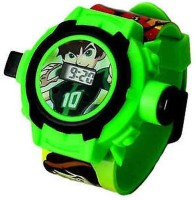 Turban Toys Ben10 Wristband Projector (Green)