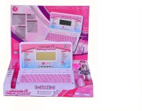 Zest4toyZ Intellective Learning Laptop Computer For Kids With 30 Activites (Pink)