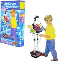 Toys Bhoomi Electronic Junior Jazz Drum Set - Next Music Star (Multicolor)