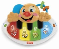 Fisher-Price Laugh & Learn Puppy's Piano Rattle (Multicolor)