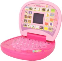 A R Enterprises 2011 Educational Learning Laptop With 26 English Words (Pink)