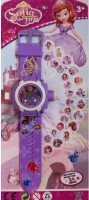 ToysBuggy Sofia 24 Images Projector Watch (Purple)