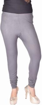 Kurtis By Menika Women's Grey Leggings