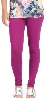 Mega Cotton Women's Pink Leggings