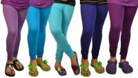 TSG My Kid Baby Girl's Leggings - Pack Of 5 - LJGDWZX6WFREEF55