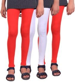 Madona Girl's Multicolor Leggings