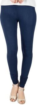 NEW TRENDS Women's Dark Blue Leggings