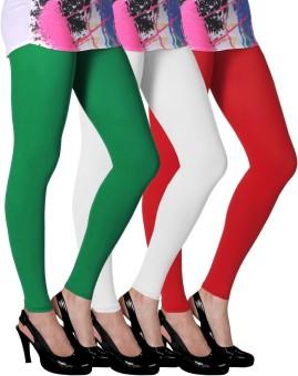 Slassy Women's Multicolor Leggings Pack Of 3