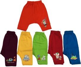 Zero Baby Girl's Red, Orange, Dark Blue, Brown, Yellow, Green Leggings