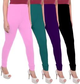 Apple Knitt Wear Women's Maternity Wear Pink, Green, Purple, Black Leggings