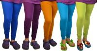 TSG My Kid Baby Girl's Leggings - Pack Of 5 - LJGDWZX6MYGKZ3JP