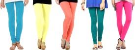 Nikita Cotton Women's Leggings Pack Of 5