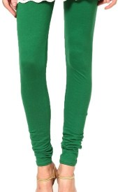 crazezone Girl's Green Leggings