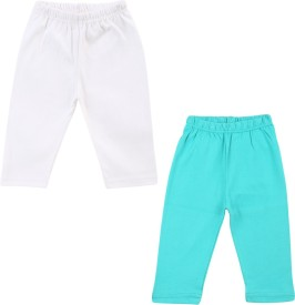 Color Fly Baby Girl's Green, White Leggings
