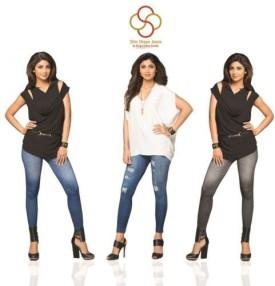 Shilpa Shetty Kundra Women's, Girl's Leggings Pack Of 3