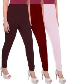 Apple Knitt Wear Women's Brown, Maroon, Pink Leggings