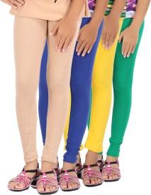 Be Style Girl's Multicolor Leggings