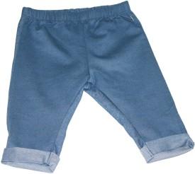 Bisbasta Baby Girl's Blue Leggings