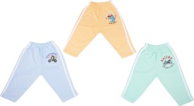 Cucumber Baby Girl's Blue, Green, Orange Leggings Pack Of 3