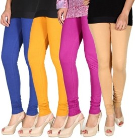 Craftatoz Girl's Multicolor Leggings