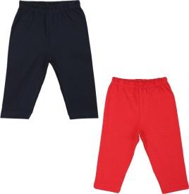 Color Fly Baby Girl's Dark Blue, Red Leggings