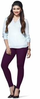 Evince Women's Purple Leggings