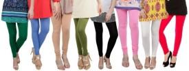 Bembee Women's Leggings (Pack Of 8) - LJGEYV39AX9X6ZHJ