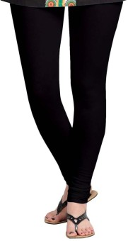Roshni Creations Girl's, Women's Black Leggings