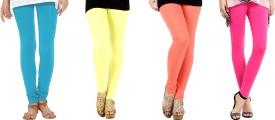 Nikita Cotton Women's Leggings Pack Of 4