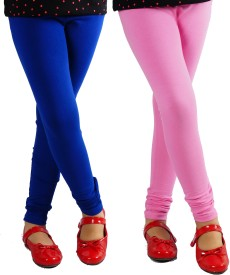 Naughty Ninos Girl's Blue, Pink Leggings