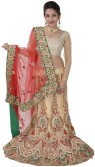 Trimurti Fashion Embroidered Women's Lehenga, Choli and Dupatta Set