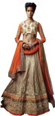 KNP Enterprise Embroidered Women's Lehenga, Choli and Dupatta Set